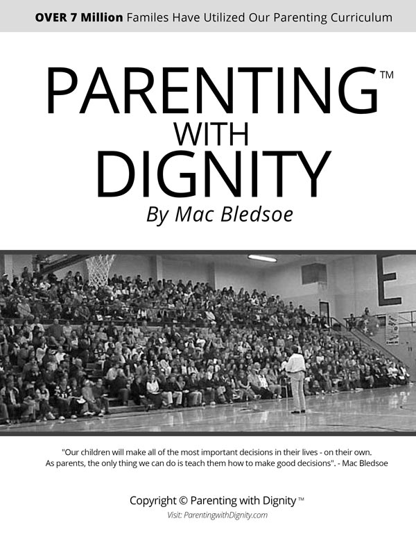 Parenting with Dignity Workbook Cover Black and White